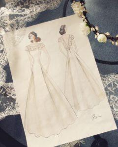 Création unique robes de mariées Oksana Kokhan