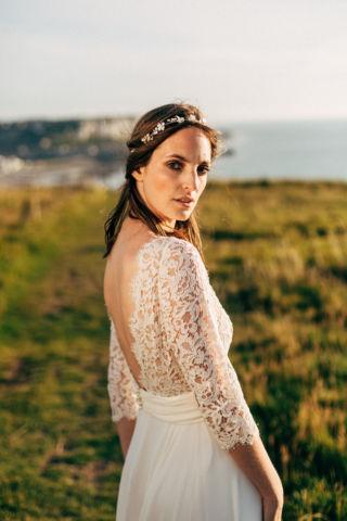 robe de mariee decollete dans le dos