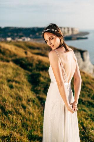 robe de mariee en dentelle chantilly