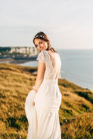 robe de mariee dos nu