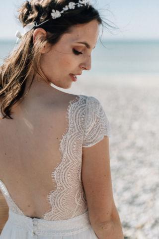 robe de mariee dentelle moderne