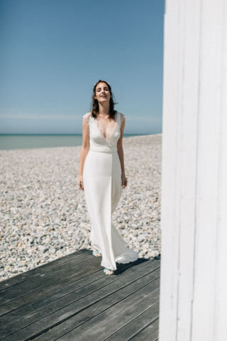 robe de mariee avec fente
